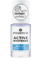 Essence Nagelpflege & Repair Active Whitener Base Coat Brightening Nagellack 8.0 ml