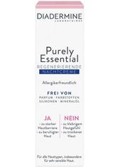 DIADERMINE Purely Essential Purely Essential Nachtpflege Gesichtspflege 40.0 ml