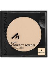 Manhattan Make-up Gesicht Soft Compact Powder Nr. 1 1 Stk.