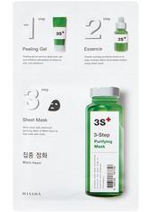 Missha Masken 3step Purifying Mask Maske 28.5 g