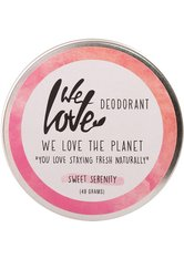 WE LOVE THE PLANET - We Love The Planet Natürliche Deo Creme - Sweet Serenity 48 Gramm - DEODORANTS
