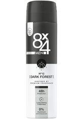 8x4 Deodorants Spray No.12 Dark Forest Deodorant 150.0 ml