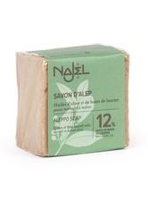 Najel Produkte Aleppo-Seife - 12% Lorbeeröl 170g Stückseife 170.0 g