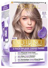 L´Oréal Paris Excellence Excellence Cool Creme 7.11 Ultra kühles Mittelblond Haarfarbe 1.0 pieces