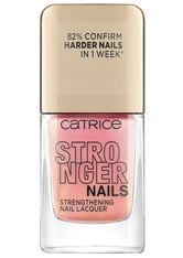 Catrice Stronger Nails Strengthening Nail Lacquer Nagellack  10.5 ml Expressive Pink