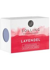 Solling Naturkosmetik Produkte Kokosölseife - Lavendel 100g  100.0 g