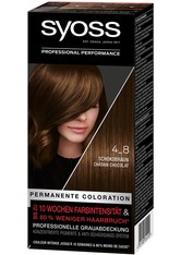 Syoss Permanente Coloration Professionelle Grauabdeckung Leuchtendes Rot Haarfarbe 115 ml