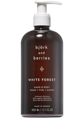 Björk & Berries White Forest Hand & Body Wash Körperseife 400.0 ml