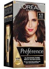 L'Oréal Paris Préférence 4.15 Intensives Mittelbraun (Caracas) Coloration 1 Stk. Haarfarbe