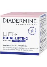 DIADERMINE Lift + Lift+ Nachtpflege Nutri-Lifting Gesichtspflege 50.0 ml