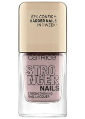 Catrice Stronger Nails Strengthening Nail Lacquer Nagellack  10.5 ml Vivid Nude