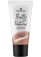 essence Pretty Natural Hydrating Flüssige Foundation  30 ml NR. 270 - WARM AMBER