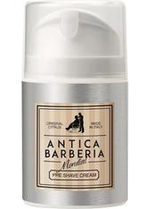 MONDIAL ANTICA BARBERIA - Becker Manicure Mondial 1908 Antica Barberia Original Citrus Pre-Shave Cream 50 ml - PRE SHAVE