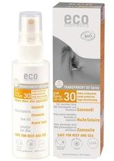 Eco Cosmetics Produkte Transparent - Sonnenöl LSF30 50ml Sonnenöl 50.0 ml