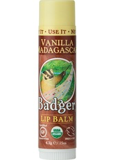 BADGER BALM - Badger Lip Balm Vanilla Madagascar Lippenbalsam 4,2 g - LIPPENBALSAM