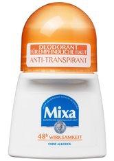 MIXA - Mixa Deodorant Mixa Deodorant Anti-Transpirant Deodorant Roll-on Deodorant Roller 50.0 ml - Roll-On Deo