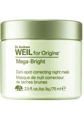 ORIGINS - Origins Dr. Andrew Weil for Origins™ Mega-Bright Skin Tone Correcting Overnight Mask 75ml - CREMEMASKEN