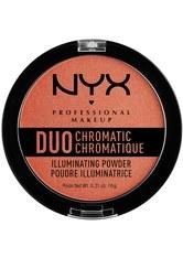 NYX Professional Makeup Puder Duo Chromatic Illuminating Powder Highlighter 6.0 g