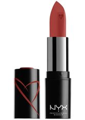 NYX Professional Makeup Shout Loud Hydrating Satin Lipstick (Various Shades) - Hot in Here
