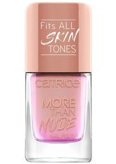 CATRICE - Catrice - Nagellack - More Than Nude Nail Polish - 05 Rosey-o & Sparklet - NAGELLACK