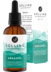 YÚ NATURKOSMETIK - Solling Naturkosmetik Produkte Hautpflegeöl - Argan 50ml Körperöl 50.0 ml - KÖRPERCREME & ÖLE