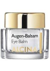 ALCINA - Alcina Kosmetik Effekt & Pflege Augen-Balsam 15 ml - AUGENCREME