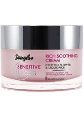 Douglas Collection Sensitive Focus Rich Soothing Cream Gesichtscreme 50.0 ml