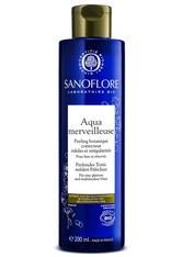 SANOFLORE - Sanoflore Produkte Sanoflore Produkte SANOFLORE Merveilleuse Aqua peelendes Tonic Gesichtspeeling 200.0 ml - Peeling