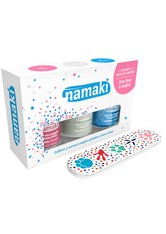 Namaki Produkte Nagellack Set - Pink. Perlweiß. Hellblau Nagellack 1.0 pieces