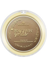 essence The Glowin' Golds Vitamin E Baked Bronzer 7 g Good As Gold