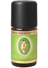 PRIMAVERA - Primavera Health & Wellness Ätherische Öle Rose Afghanisch Bio 10% 5 ml - KÖRPERCREME & ÖLE