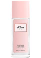 s.Oliver For Her Deodorant Natural Spray 75 ml Deodorant Spray