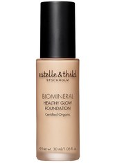 estelle & thild BioMineral Healthy Glow Foundation 121 Light Yellow 30 ml Flüssige Foundation