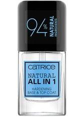 Catrice Nagellack Natural All in 1 Hardening Base & Top Coat Nagellack 10.5 ml