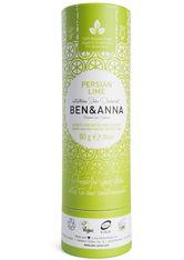 BEN & ANNA - Ben & Anna Produkte Persian Lime - Deo papertube 60g Deodorant Stift 60.0 g - DEODORANT