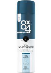 8x4 Deodorants Spray No.10 Atlantic Wave Deodorant 150.0 ml