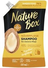 Nature Box Haarpflege Nährpflege Shampoo Argan-Öl Nachfüllbeutel Haarshampoo 500.0 ml