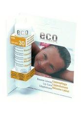 ECO COSMETICS - Eco Cosmetics Lippenpflegestift LSF 30 4 Gramm - Lippenpflege - LIPPENBALSAM