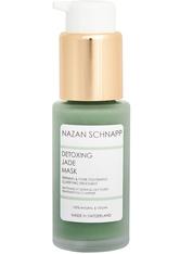 NAZAN SCHNAPP - Nazan Schnapp Produkte Detoxing  Jade Mask Reinigungsmaske 30.0 ml - Crememasken