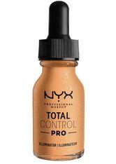 NYX Professional Makeup Total Control Pro Illuminator Highlighter 13 ml Nr. Tcpi02 - Warm
