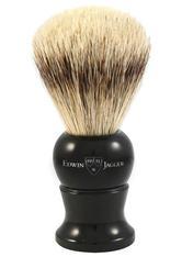 EDWIN JAGGER Produkte Super Badger Dachshaar Rasierpinsel Griff schwarz Rasierpinsel 1.0 pieces