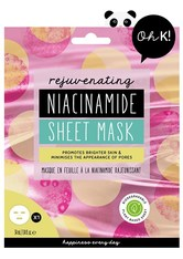 Oh K! Masken Niacinamide Sheet Mask Maske 34.0 ml