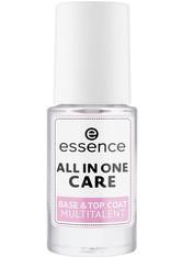 Essence Nagelpflege & Repair All In One Care Base + Top Coat Multitalent Nagellack 8.0 ml