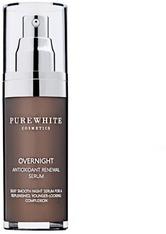Pure White Cosmetics Gesichtspflege Overnight Antioxidant Renewal Serum Serum 30.0 ml