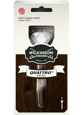 Wilkinson Quattro Wilkinson Sword Quattro Herren Rasierer Vintage Edition mit 1 Rasierklinge Rasiergel 1.0 pieces