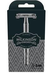 Wilkinson Classic Vintage Classic Vintage Edition Herren Rasierer mit 5 Rasierklingen Rasiergel 1.0 pieces