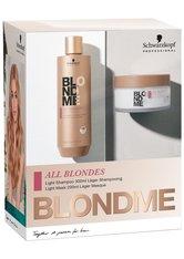 Schwarzkopf Professional All Blondes LIGHT BlondMe Duo-Set Haarpflege 1.0 pieces