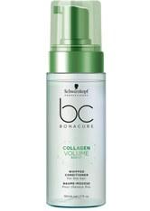 Schwarzkopf Professional Haarspülung »BC Bonacure Collagen Volume Boost Whipped Conditioner«, 1-tlg., Für feines Haar