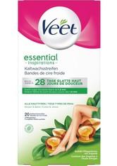 Veet Kaltwachsstreifen »Essential Inspirations mit Easy-Gelwax«, 20 Stück, für alle Hauttypen