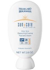Hildegard Braukmann Sun & Care Aloe Vera Gesichts Creme SPF 20 75 ml Gesichtscreme